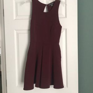 Maroon Kendall & Kylie Dress